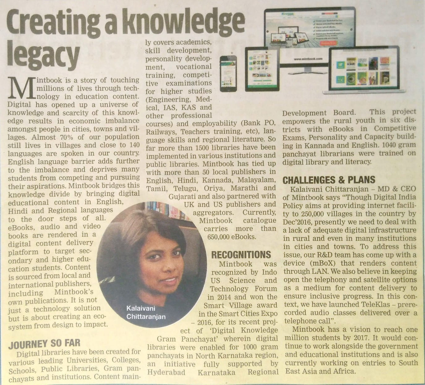 Mintbook Creating a Knowledge Legacy