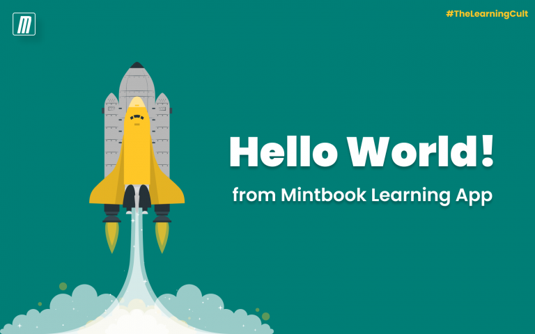 Hello World! from Mintbook Learning App