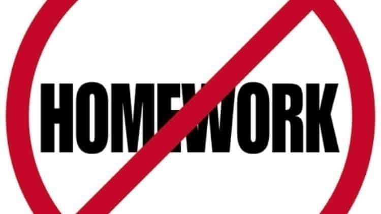 No Home Work in Finaland
